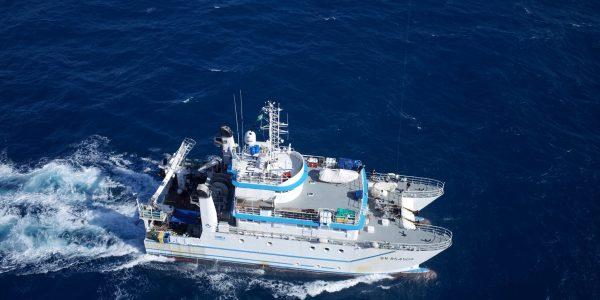 Antea, navire océanographique de l'IRD, campagne ABRAÇOS 1 – LMI TAPIOCA © IRD – Gildas Roudaut