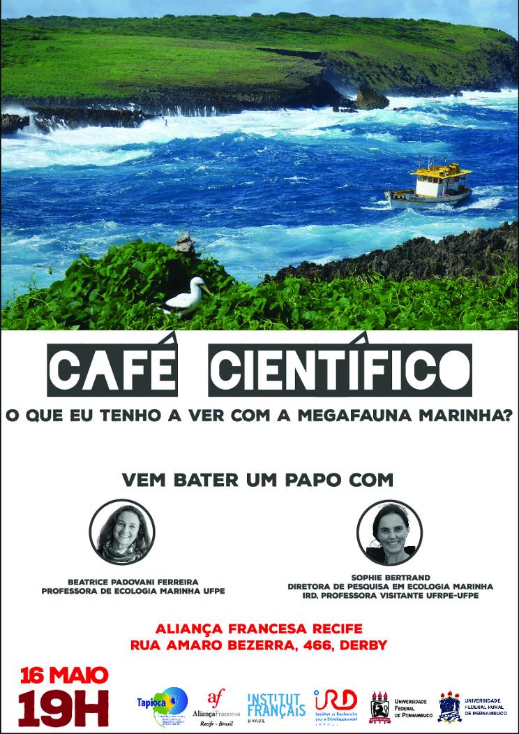 II Café Científico: O que eu tenho a ver com a megafauna marinha?