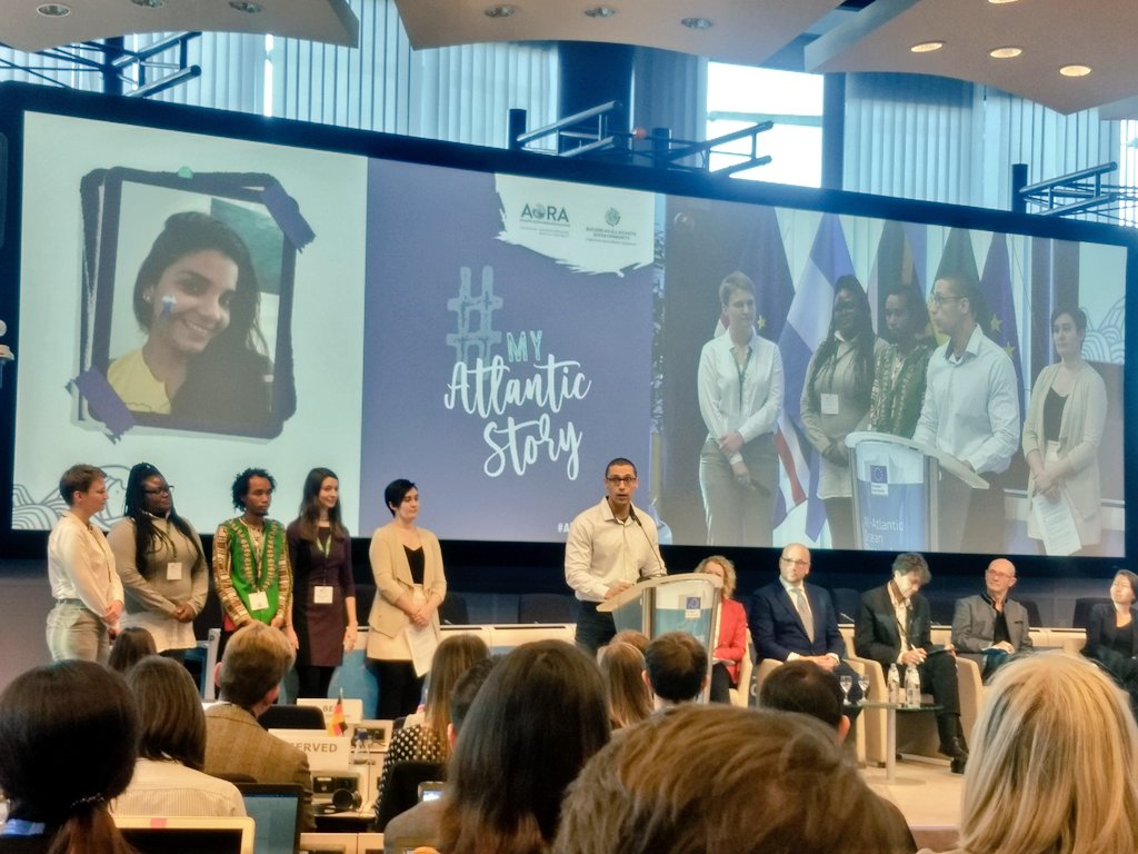 Leandro Nole, PhD Student (UFRPE/Bioimact – IRD/University of Montpellier/Marbec – LMI TAPIOCA), Youth Ambassador at the All-Atlantic Ocean Research Forum, February 6-7, Brussels