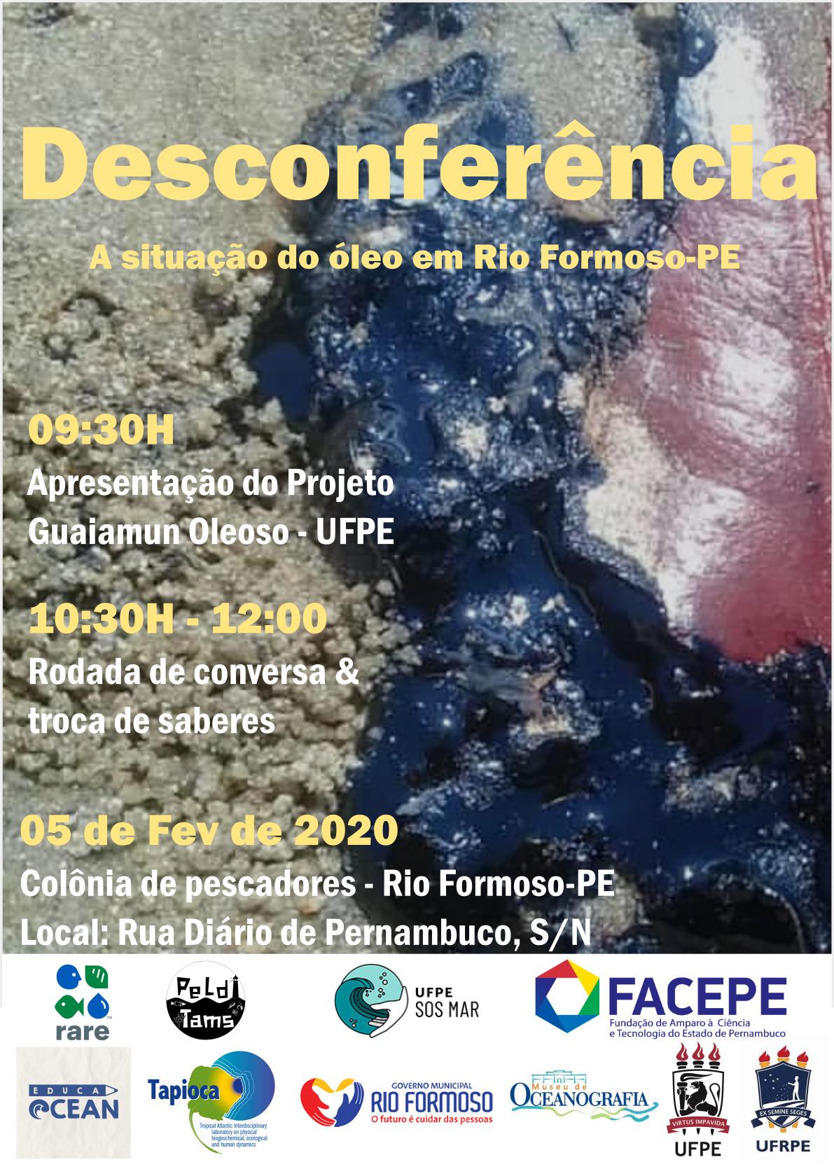 Desconferência: A situação do Óleo em Rio Formoso-PE