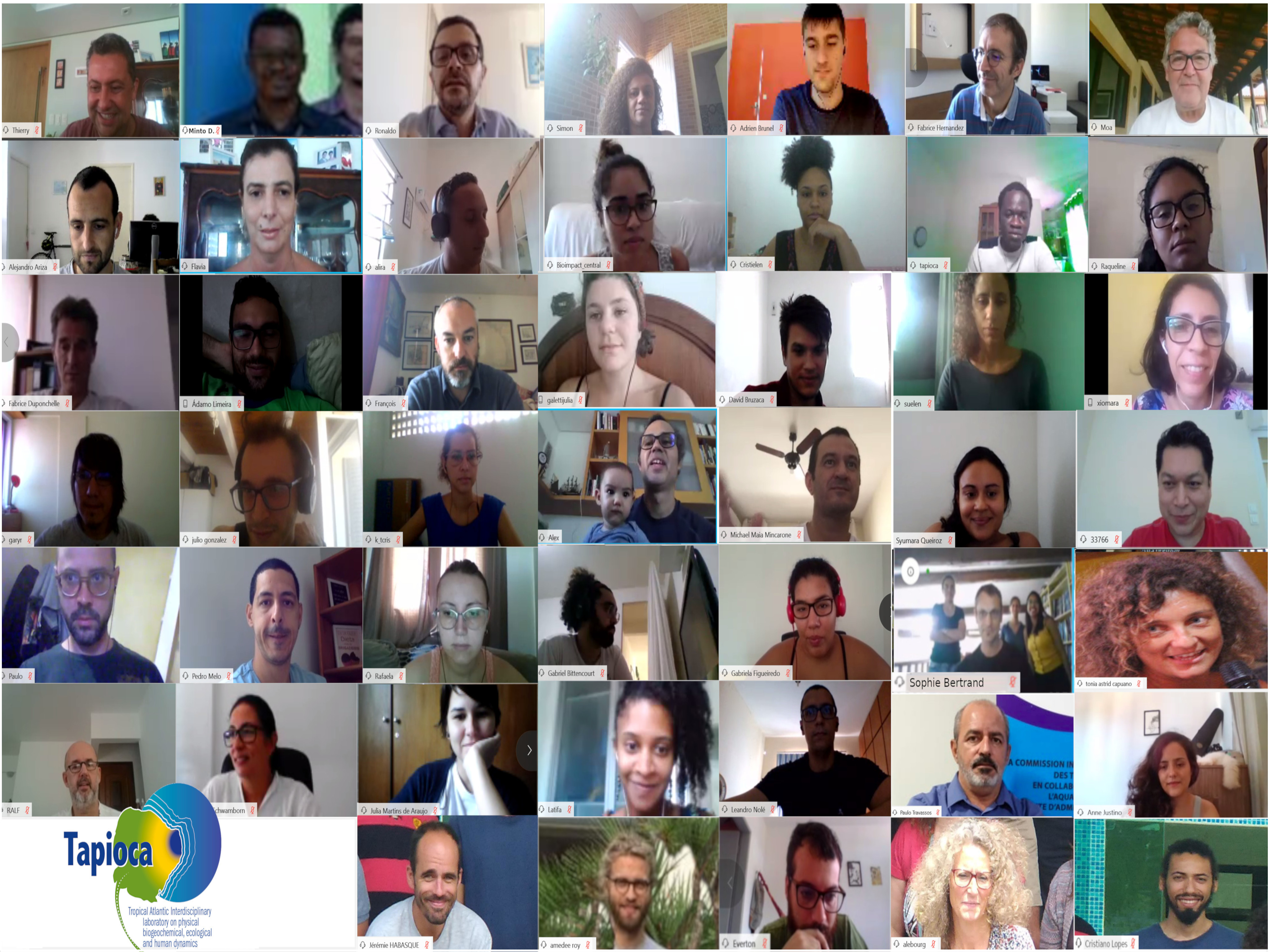 Follow up – last TAPIOCA meeting (05-06/05/2020) – Webex