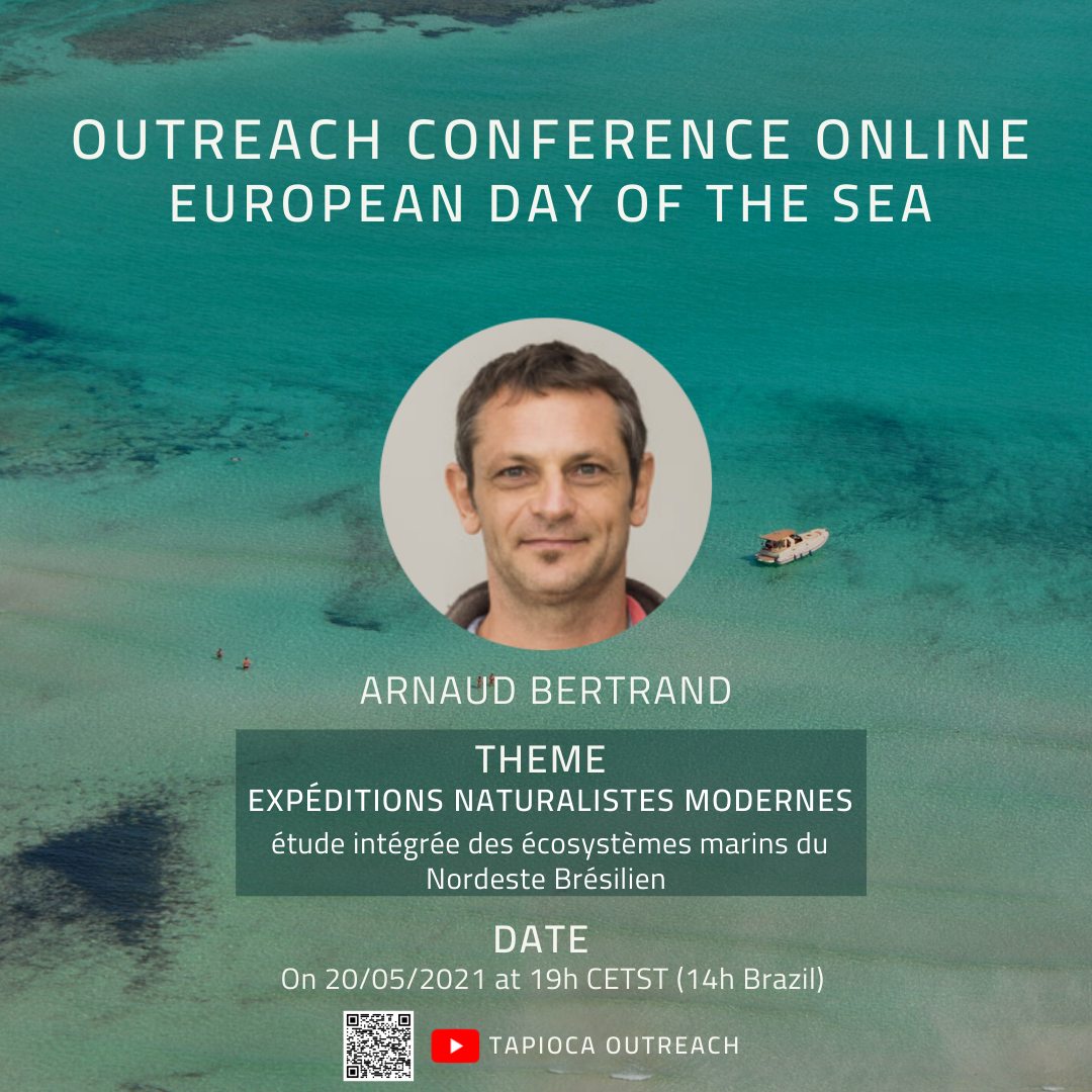 Outreach conference (in French) by Arnaud Bertrand in the framework of the European day of the sea