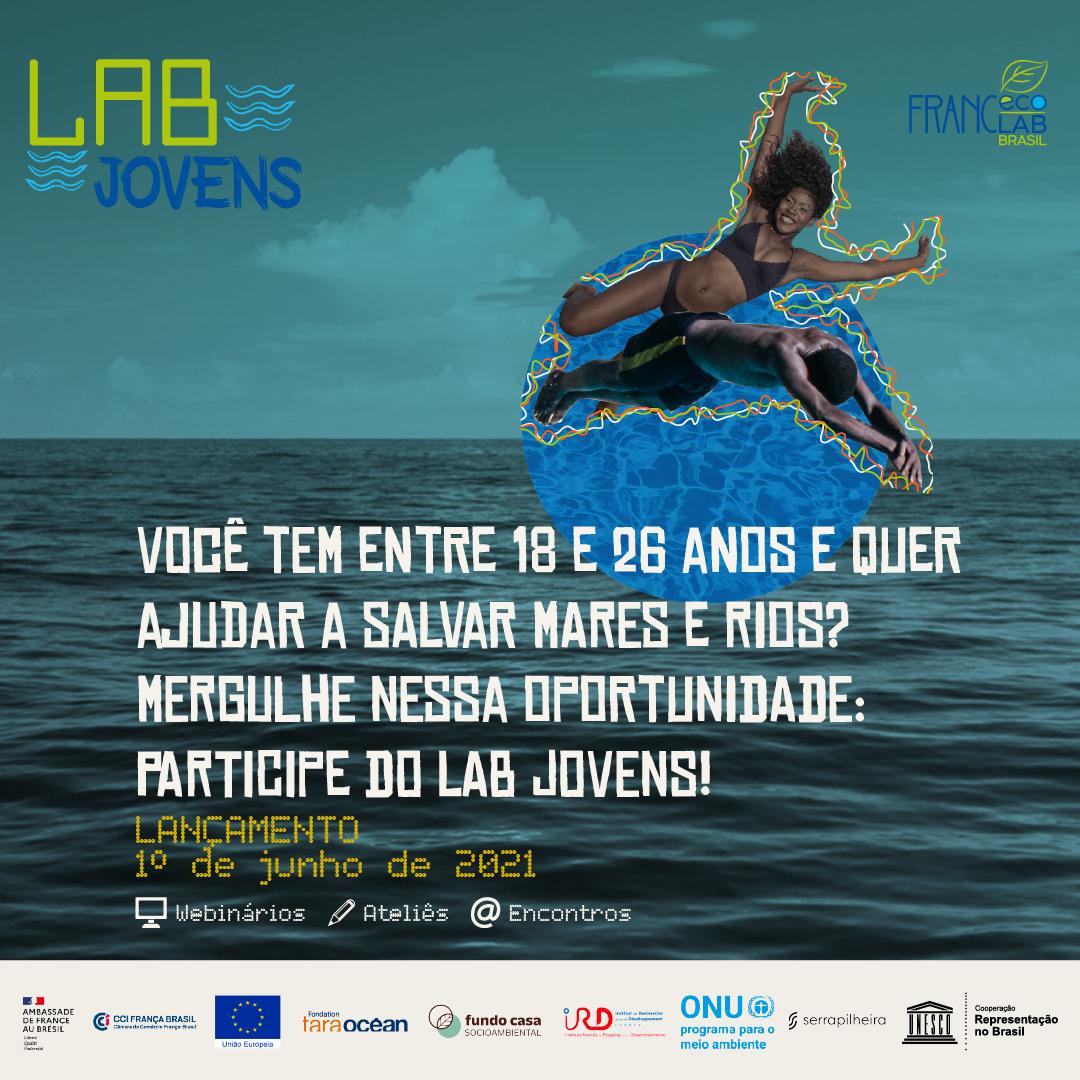 LAB Jovens: Defender os oceanos e rios