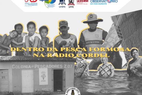Dentro da pesca formosa na programação da rádio Cordel